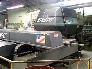 Turret CNC Punch Press - 35 & 45 ton turret punch presses with up to 5' x 10' table size
